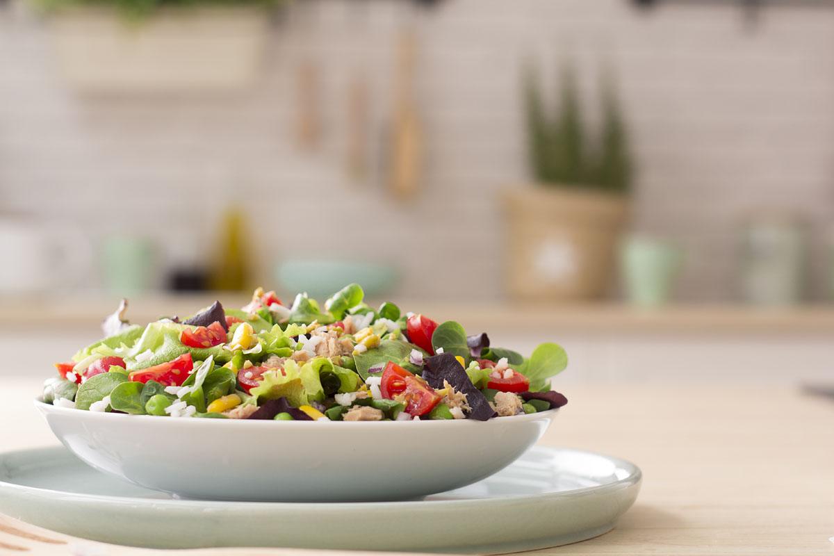 Descubre 5 recetas de ensaladas de arroz - Florette