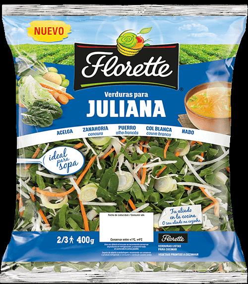 Bolsa de verduras con acelga, zanahoria, puerro, col blanca y nabo