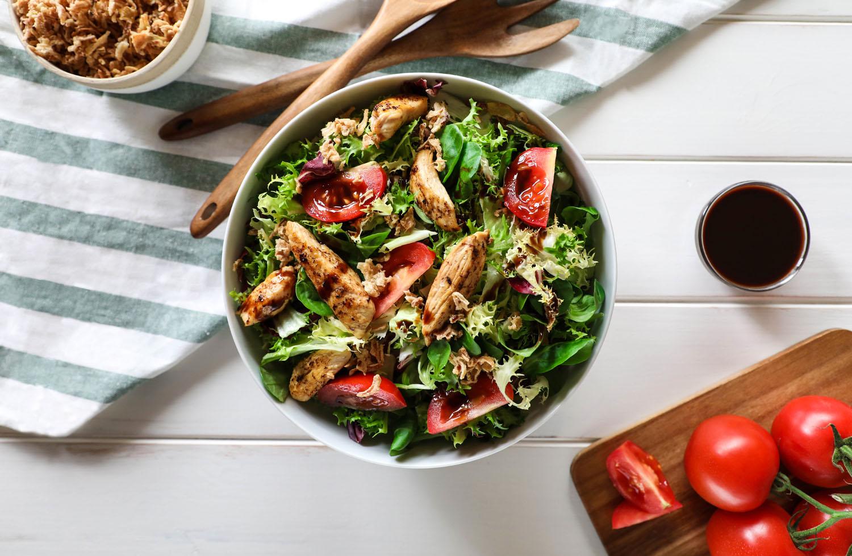 Cómo hacer una receta de Ensalada de pollo
