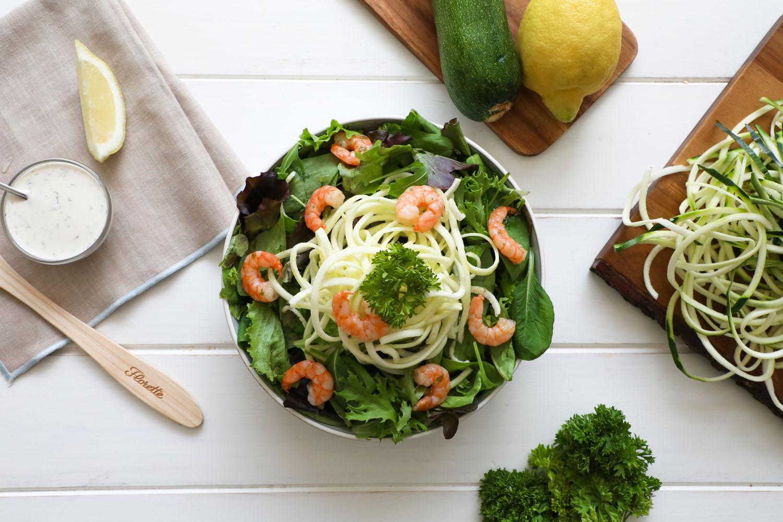 Cómo hacer una receta de Espaguetis Vegetales