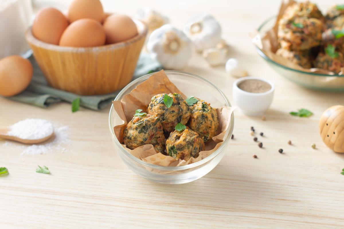 Cómo hacer una receta de Buñuelos de acelga