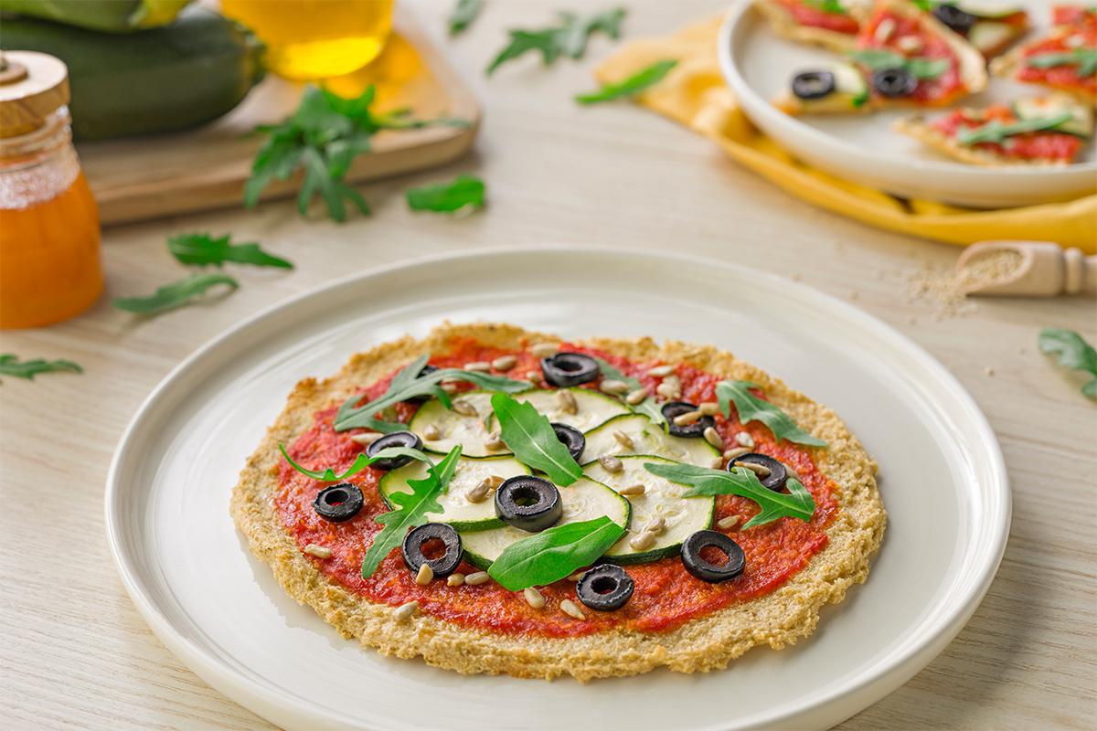 Cómo hacer una Pizza de quinoa