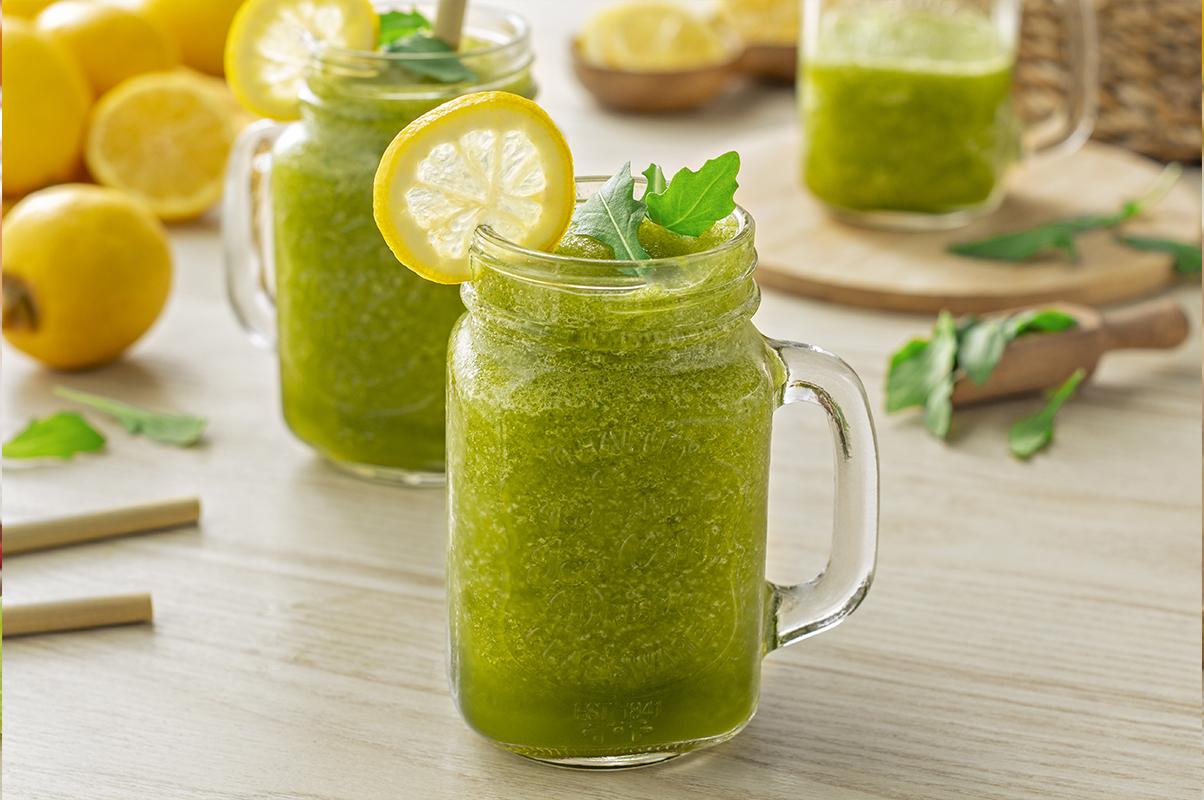 Cómo hacer sorbetes de rúcula y limón