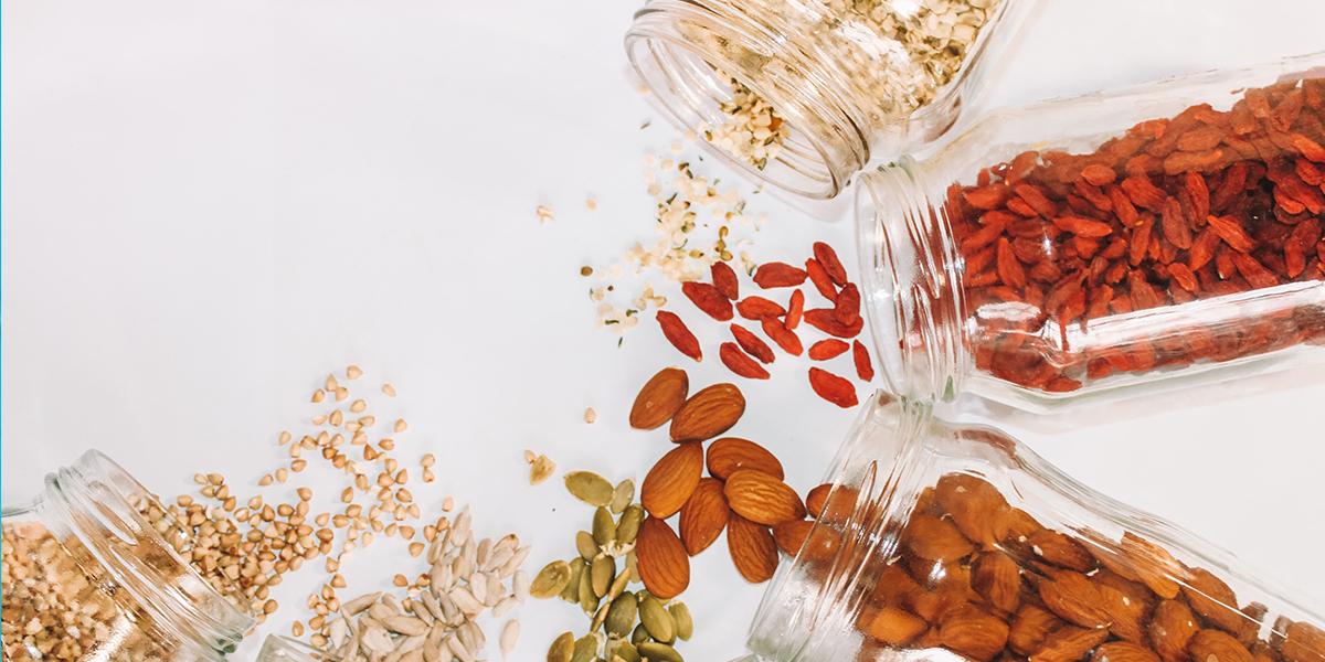 Como hacer 4 recetas con frutos secos